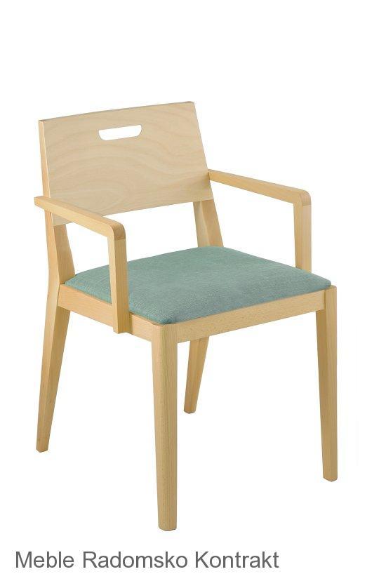Fotel restauracyjny nowoczesny Nowa BS