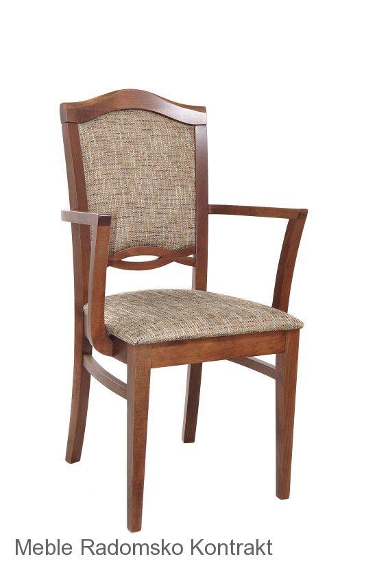 Fotel restauracyjny stylowy AS-1104