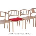 Krzesła restauracyjne drewniane Cirilla RODZINA