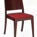Krzesło restauracyjne drewniane AS-0504 tap