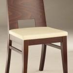 Krzesło restauracyjne drewniane AS-0805