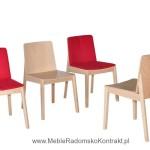 Krzesło restauracyjne drewniane Bart AS rodz1