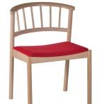 Krzesło restauracyjne drewniane Cirila AS..