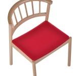Krzesło restauracyjne drewniane Cirila AS