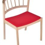 Krzesło restauracyjne drewniane Cirila AS`