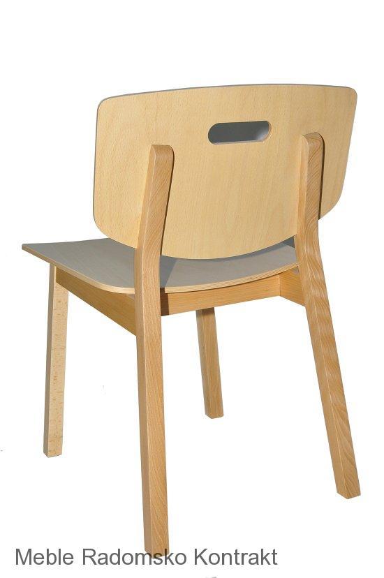 Krzesło restauracyjne drewniane Lof AS.