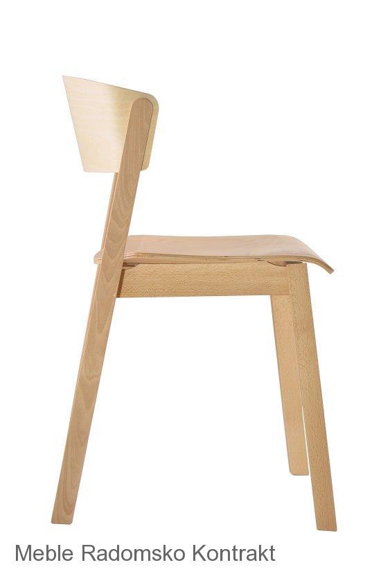 Krzesło restauracyjne nowoczesne A-Cava.