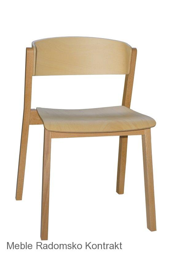 Krzesło restauracyjne nowoczesne A-Cava