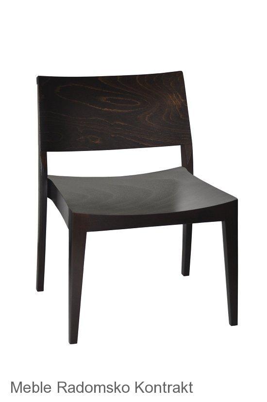 Krzesło restauracyjne nowoczesne AS-0504 L