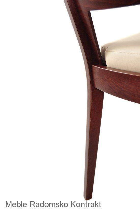 Krzesło restauracyjne nowoczesne AS-0712 detal3