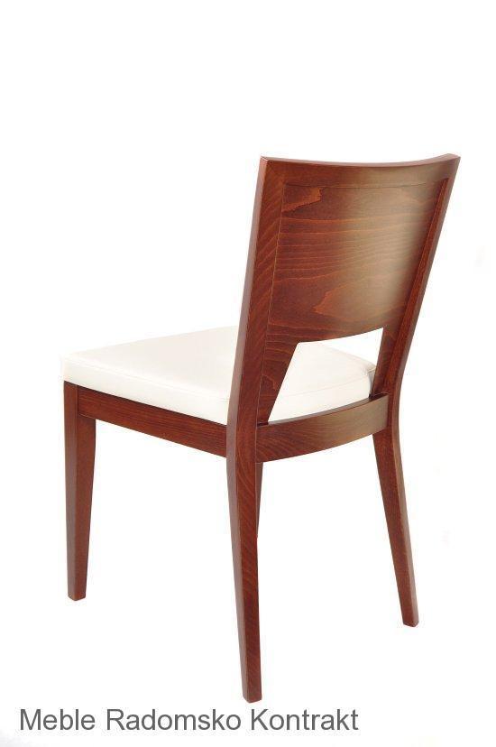 Krzesło restauracyjne nowoczesne AS-0712.'