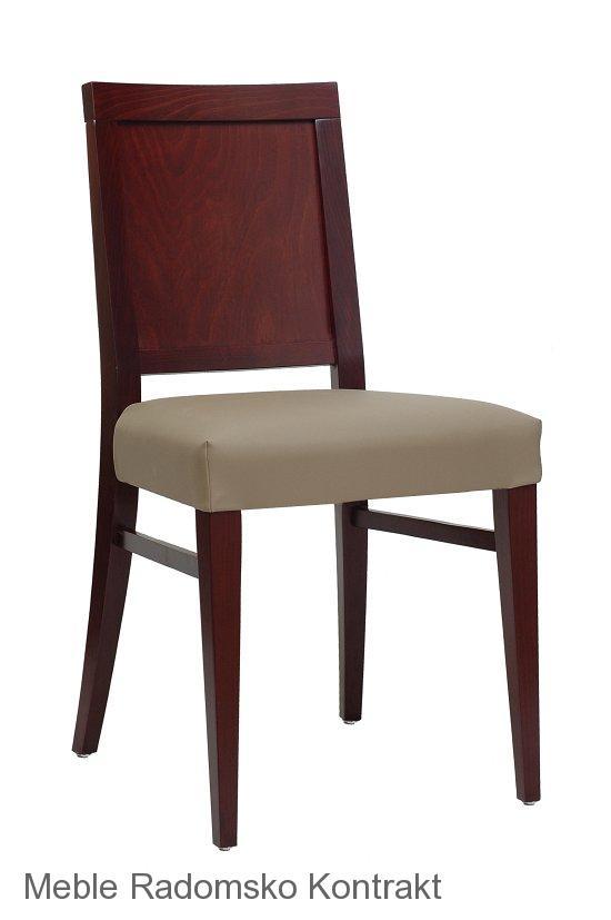 Krzesło restauracyjne nowoczesne AS-0801