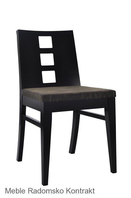 Krzesło restauracyjne nowoczesne AS-0809 L