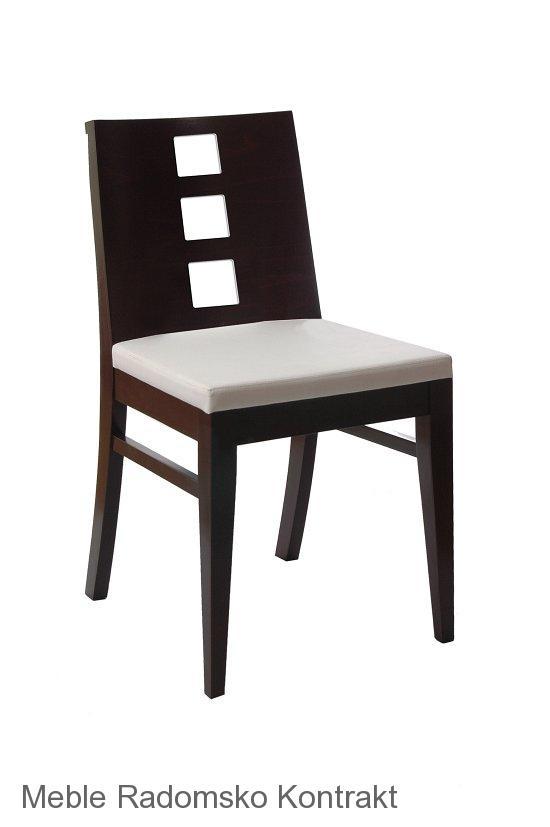 Krzesło restauracyjne nowoczesne AS-0809.