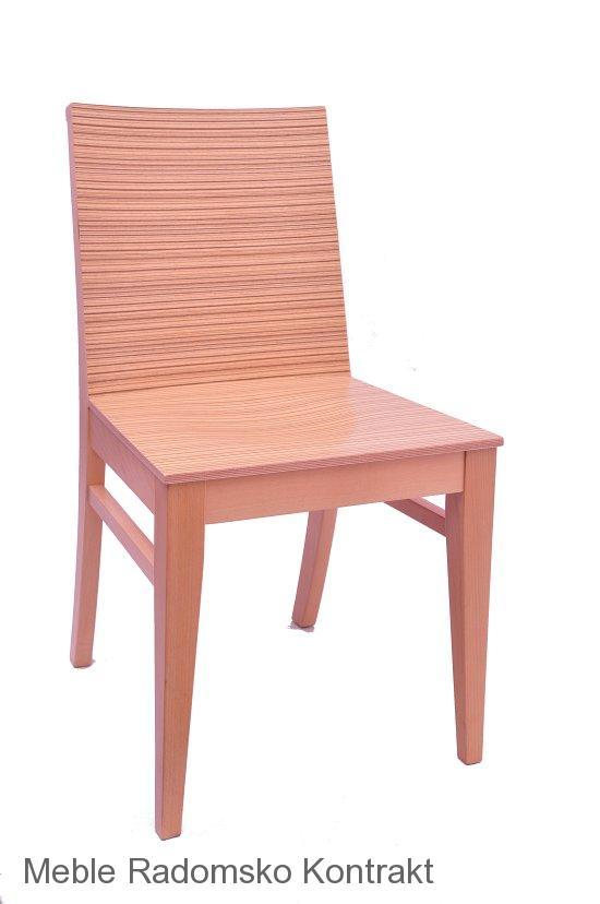 Krzesło restauracyjne nowoczesne AS-0810
