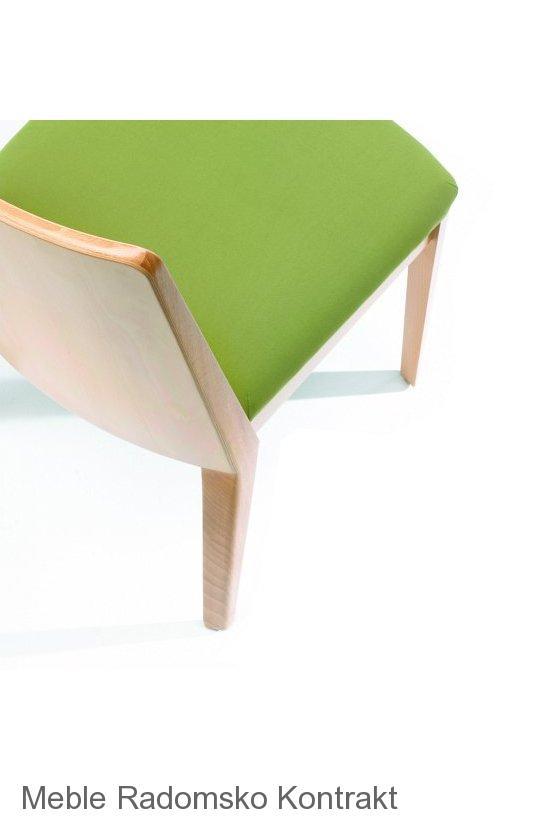 Krzesło restauracyjne nowoczesne Astro AS detal