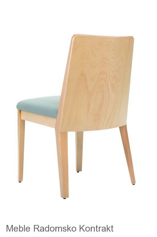 Krzesło restauracyjne nowoczesne Astro AS'