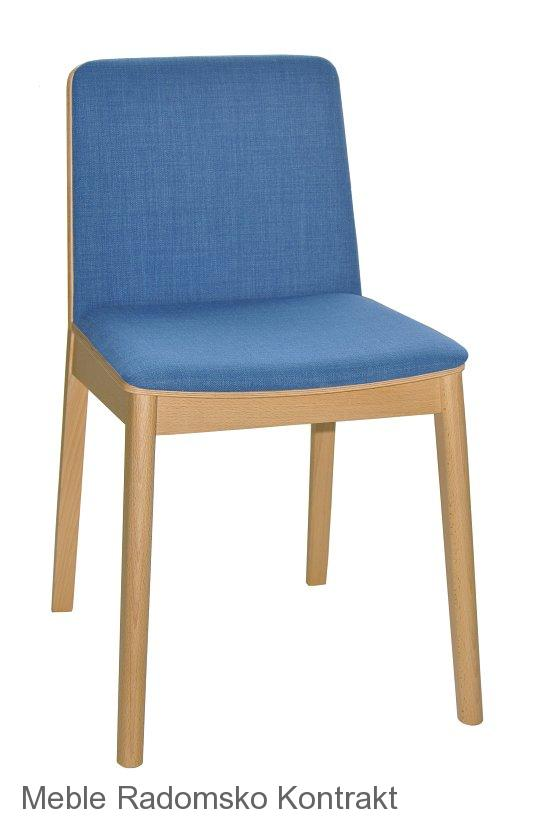 Krzesło restauracyjne nowoczesne Bart 1 AS