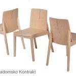 Krzesło restauracyjne nowoczesne Bart AS aranż