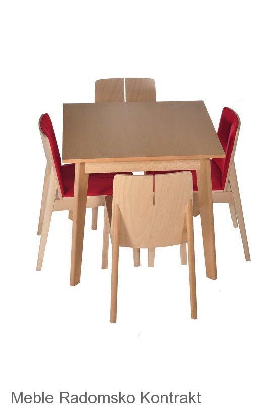 Krzesło restauracyjne nowoczesne Bart AS komplet