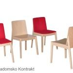 Krzesło restauracyjne nowoczesne Bart AS rodz1
