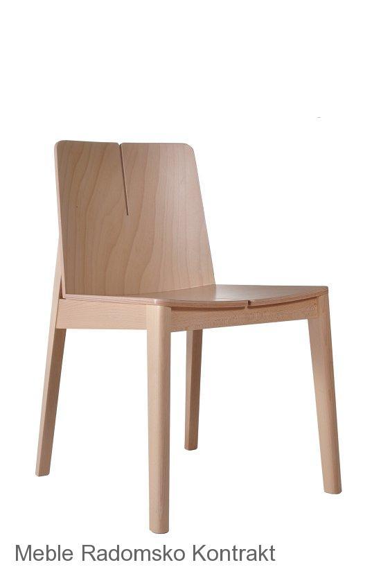 Krzesło restauracyjne nowoczesne Bart AS..