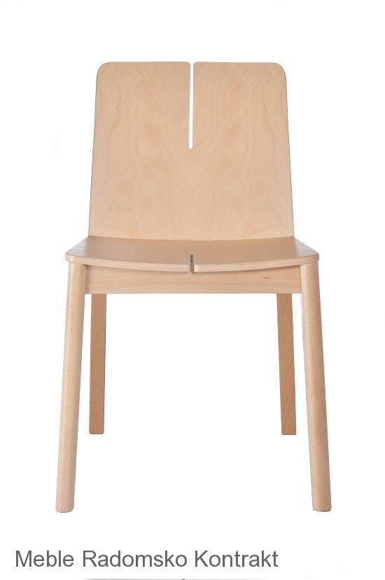 Krzesło restauracyjne nowoczesne Bart AS.