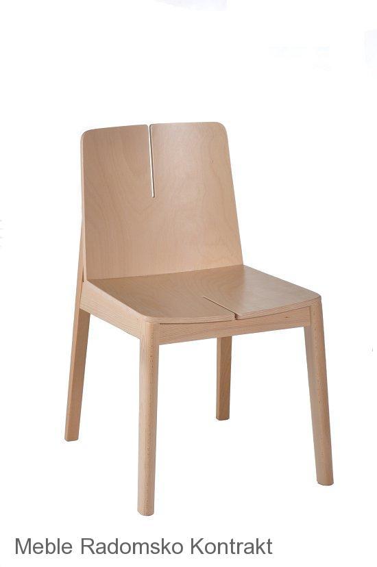 Krzesło restauracyjne nowoczesne Bart AS