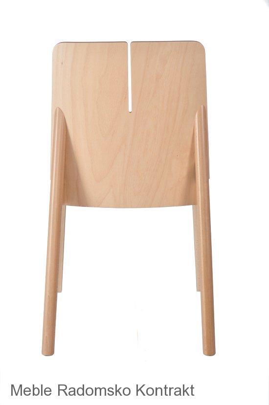 Krzesło restauracyjne nowoczesne Bart AS`