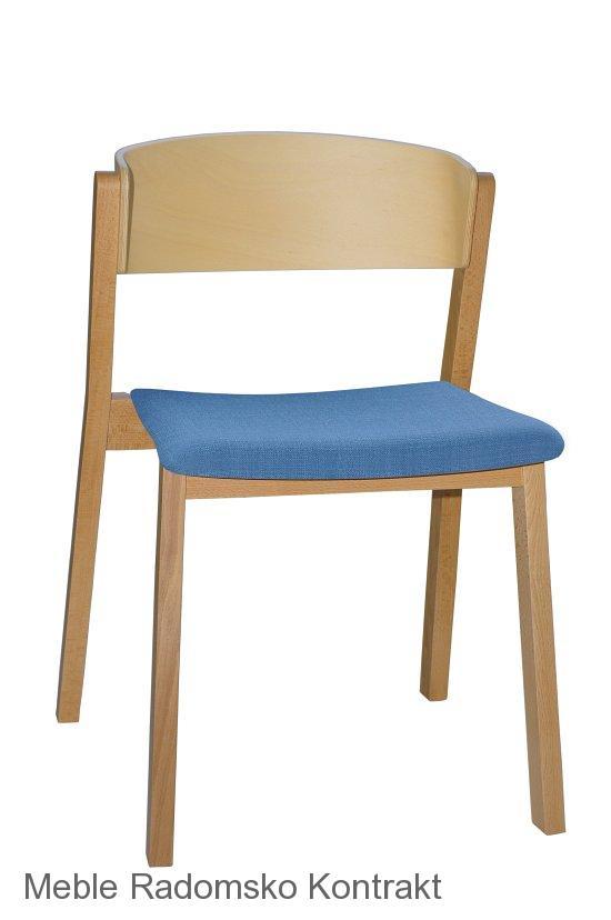 Krzesło restauracyjne nowoczesne Cava A1