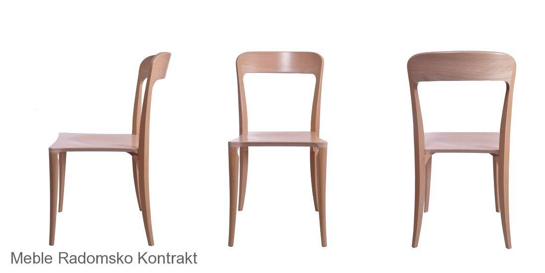 Krzesło restauracyjne nowoczesne Masi AS wizual