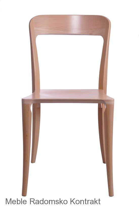 Krzesło restauracyjne nowoczesne Masi AS.