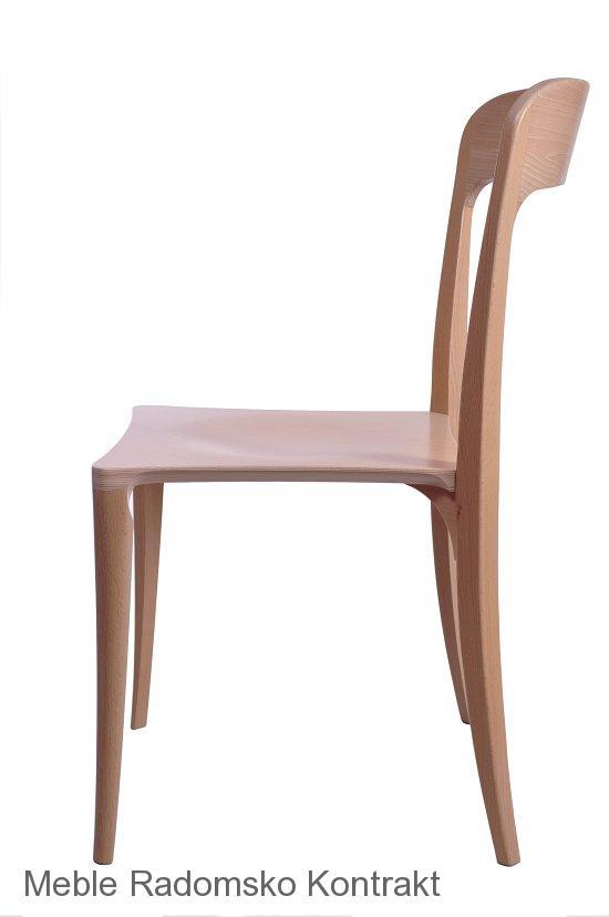 Krzesło restauracyjne nowoczesne Masi AS,