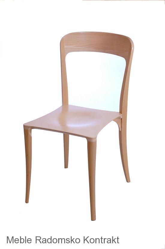Krzesło restauracyjne nowoczesne Masi AS