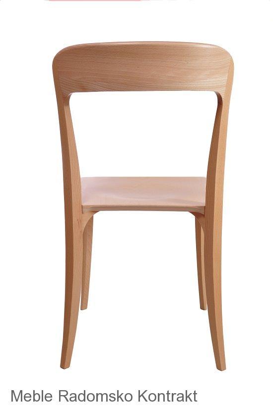 Krzesło restauracyjne nowoczesne Masi AS'