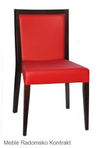 Krzesło restauracyjne nowoczesne Megi AS.