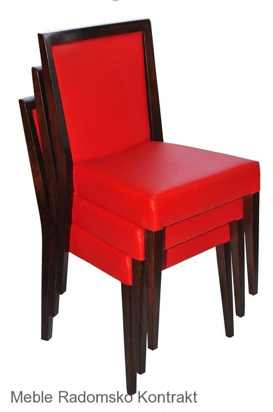 Krzesło restauracyjne nowoczesne Megi AS