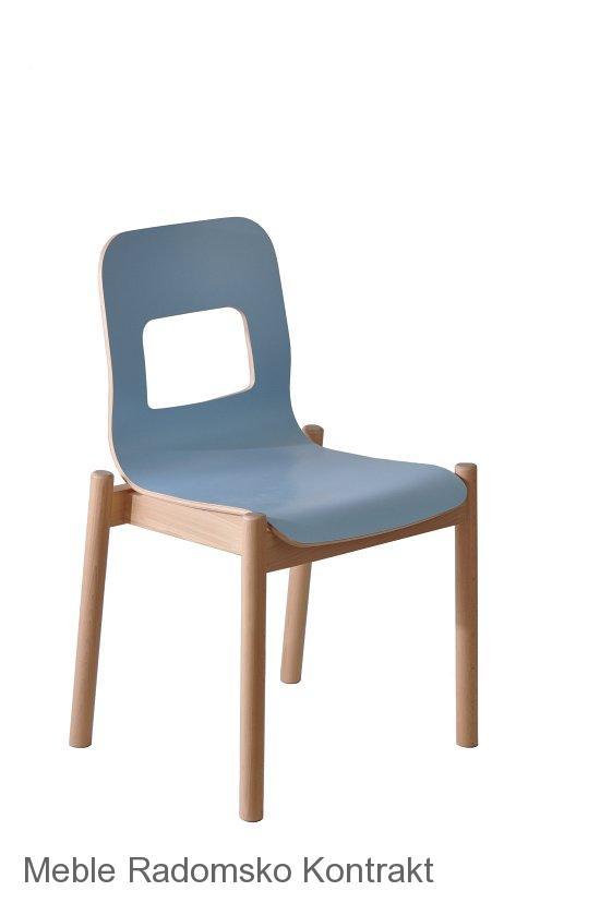 Krzesło restauracyjne nowoczesne Noah AS