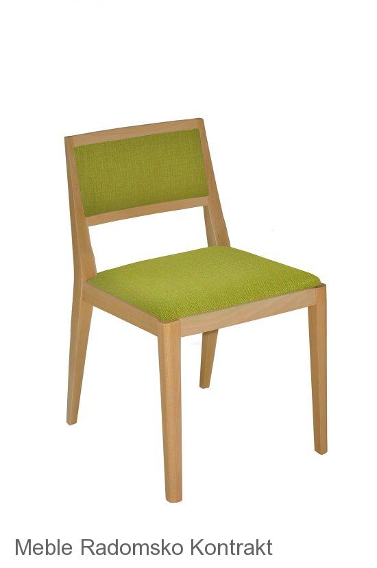 Krzesło restauracyjne nowoczesne Nova 1 AS