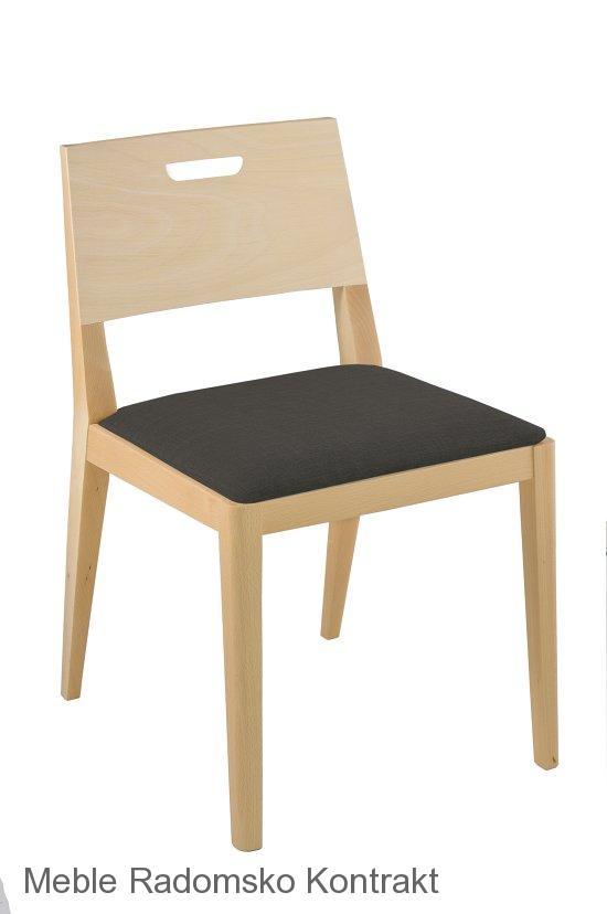 Krzesło restauracyjne nowoczesne Nova AS.