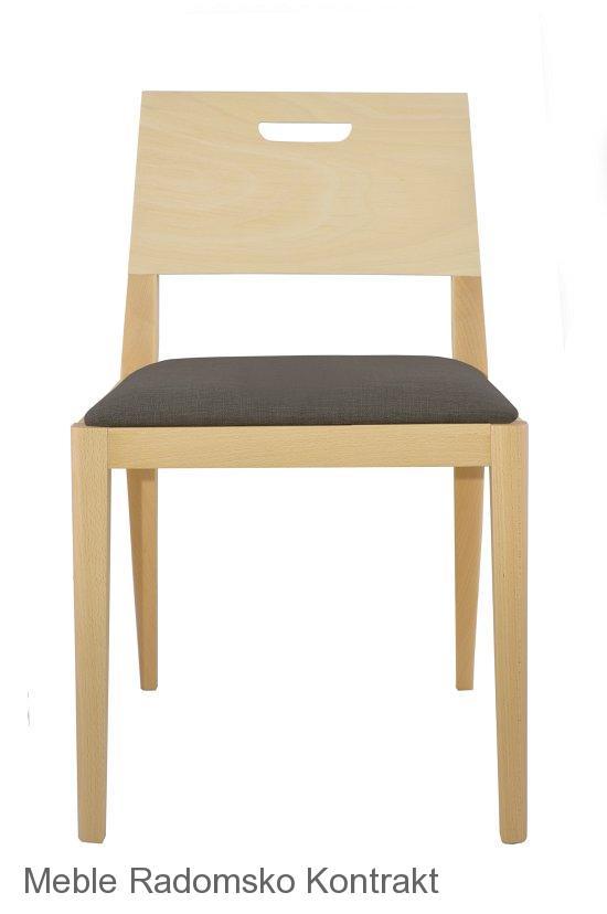 Krzesło restauracyjne nowoczesne Nova AS