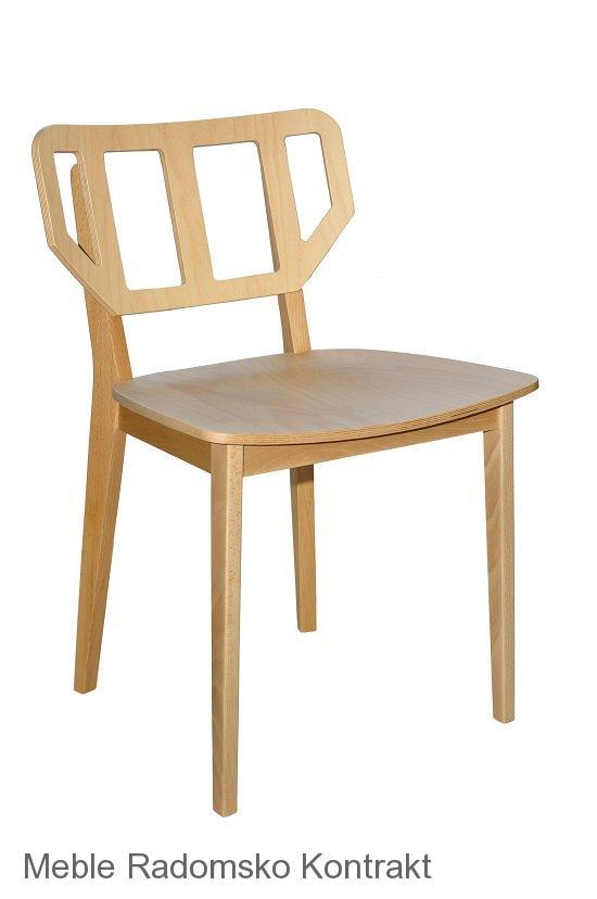 Krzesło restauracyjne nowoczesne Saglio AS.