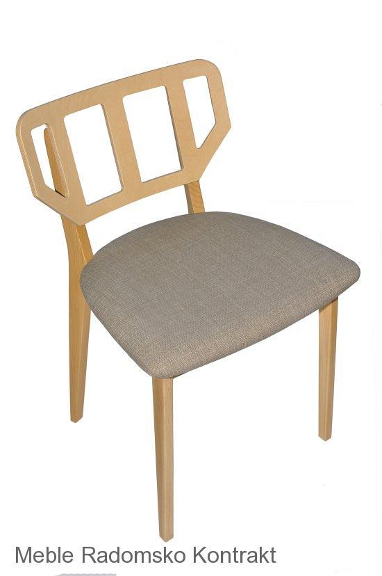 Krzesło restauracyjne nowoczesne Saglio AS