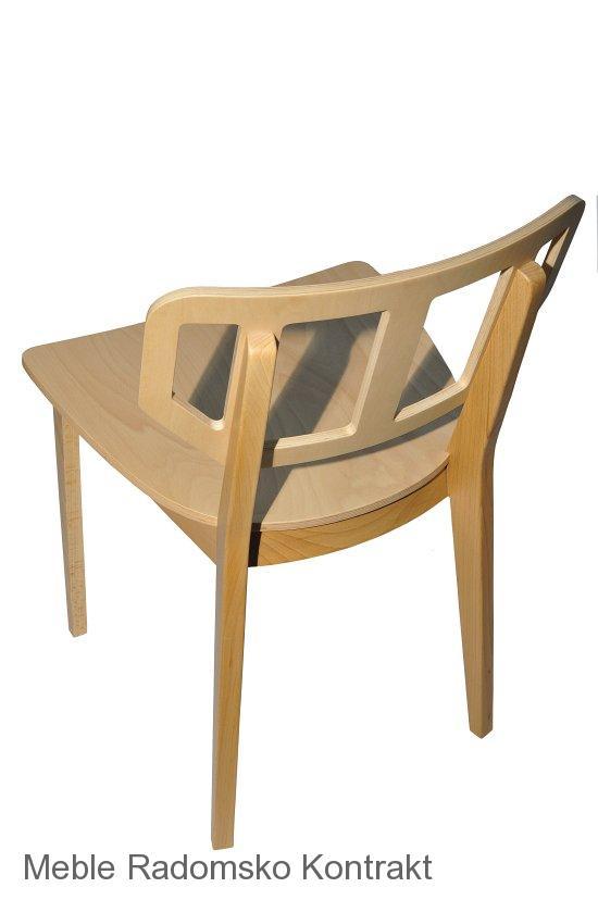 Krzesło restauracyjne nowoczesne Saglio AS'