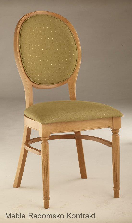 Krzesło restauracyjne stylowe AR-9416