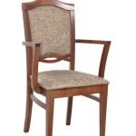 Fotel restauracyjny tapicerowany BS-1104