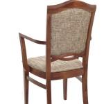 Fotel restauracyjny tapicerowany BS-1104.