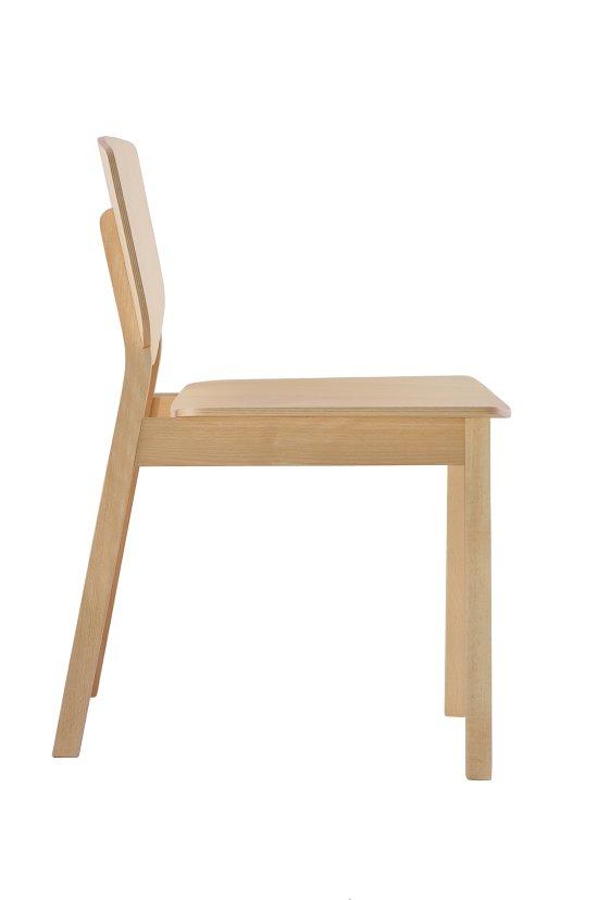 Krzesło restauracyjne drewniane Lof AS`