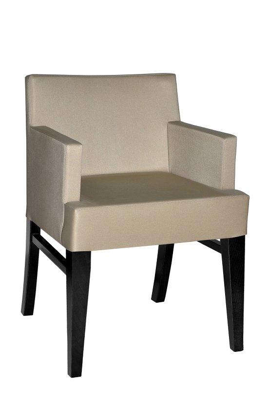 Fotel restauracyjny tapicerowany BS-0817