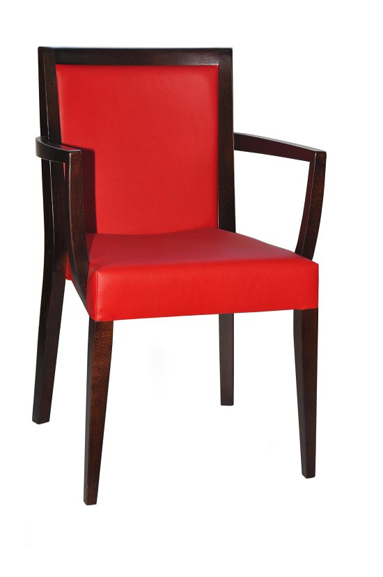 Fotel restauracyjny tapicerowany Megi BS